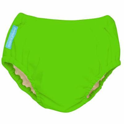 Charlie Banana Best Extraordinary Reusable Training Pants (Large, Green)