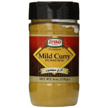 Ziyad Ground Spice Powder, Indian Mild Curry, 6 Ounce