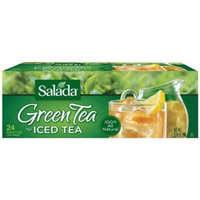 Salada Green Tea For Iced Tea - Family Size 24 Count Tea Bags - 6 Pack