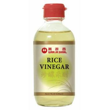Wan Ja Shan Rice Vinegar 6.7 Oz (Pack of 12)