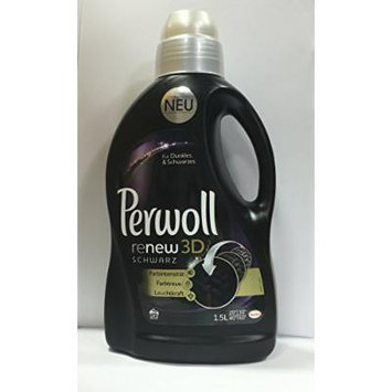 Perwoll Renew Black 3D, Liquid Black and Dark Color Laundry Detergent 1,5 Liters, 20 Loads