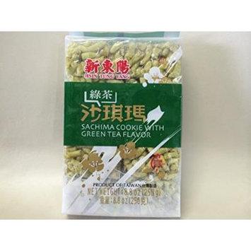Hsin Tung Yang Green Tea Sachima Cookie (8.8 oz)