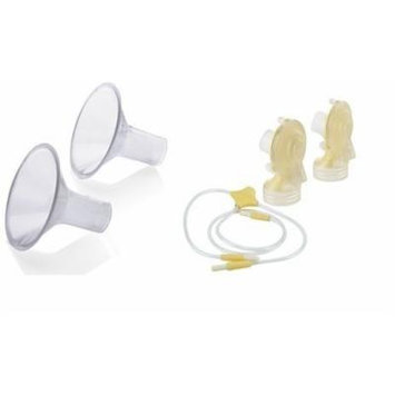 Medela Freestyle Replacement Parts Kit BPA FREE with 24mm Breastshields #FKITSTD