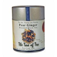 The Tao Of Tea Flower, Pear Ginger, Blended Black Tea, Pure Leaf Teas, 4.0-Ounce Tins (Pack of 3)