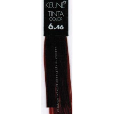 Keune Tinta Color + Silk Protein Hair Color 6.46 Dark Copper Red Blonde