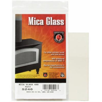 MEECO'S RED DEVIL 5281 Mica Glass for Stoves