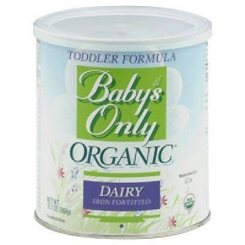 Nature's One Baby's Only Organic Dairy Based Formula Iron Fortified - 12.7 Oz (Pack of 3)