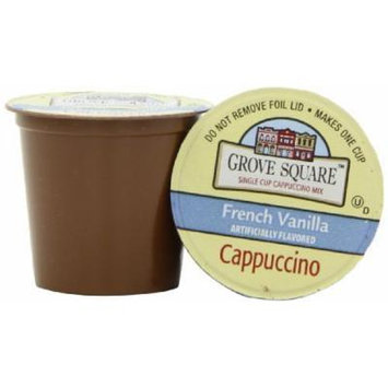 GROVE SQUARE FRENCH VANILLA CAPPUCCINO 96 K CUPS by GROVE SQUARE [Foods]