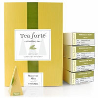 Tea Forté® EVENT BOX Moroccan Mint Green Tea, 48 Handcrafted Pyramid Tea Infusers