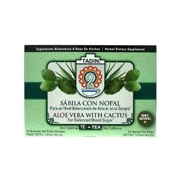 Tadin Herb & Tea Aloe Vera with Cactus Tea Bags