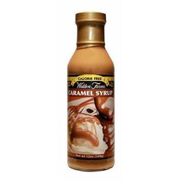 Walden Farms Caramel SYRUP - Sugar Free, Calorie Free, Fat Free, Carb Free, Gluten Free - 6 Bottle