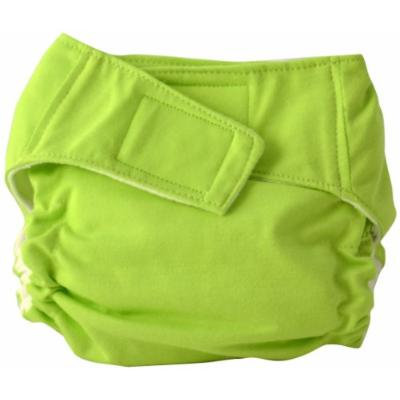 Cuteybaby All in One Modern Cloth Diaper, Solid Lime, Infant
