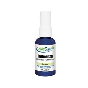 King Bio SafeCareRx Influenza Multi-Strain homeopathic 2 oz