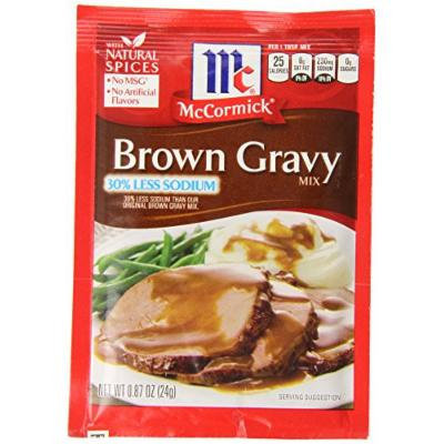 McCormick Brown Gravy, 0.87 Ounce (Pack of 12)