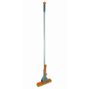 Casabella Quick 'n Easy 52060 1 Count Roller Mop, Graphite/Orange