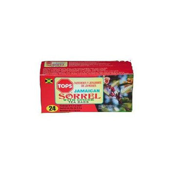 TOPS Sorrel With Ginger Tea (24 Bags)