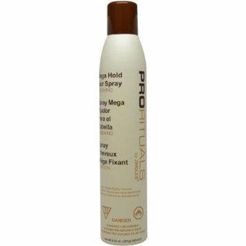 Prorituals Mega Hold Hair Spray - 9.9 Oz. Lot of 3