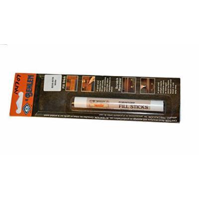 White Furniture Repair Fill Stick - Rub on Wax Pencil