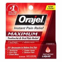 Orajel Maximum Strength, Liquid 0.45 fl oz (13.3 ml) Pack of 1