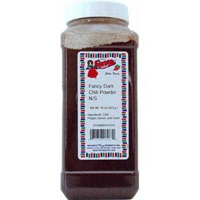 Bolner's Fiesta Extra Fancy Dark Chili Powder, 16 Oz.