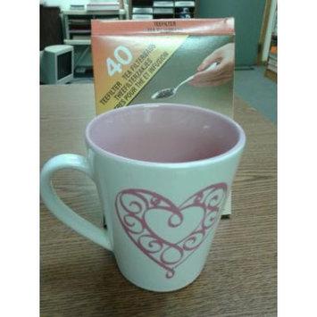 Filtropa Tea Filterbags, Single Serve, 40-ct Box, for Loose Leaf Teas