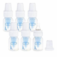 Dr. Brown's Natural Flow Feeding Polypropylene Bottle (2 oz) - 6 Pack