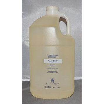 Graham Webb Visibility Clarifying/Cleanser Shampoo Gallon/128 oz with Pump
