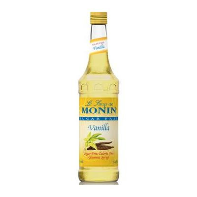 Monin Sugar Free Vanilla Syrup (1 Single 750 ml bottle)