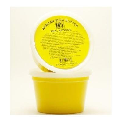 RA Cosmetics 100% African Shea Butter - Solid 32oz (Pack of 2)