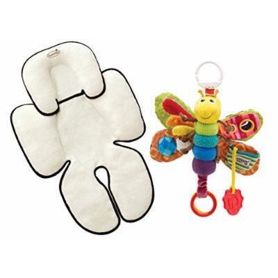 Summer Infant Velboa Snuzzler Head & Body Support with Take Along Toy, Firefly