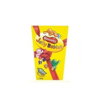 Bassetts Jelly Babies Carton 460g - Pack of 4