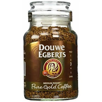 Douwe Egberts Pure Gold Instant Coffee, Medium Roast, 6.7 Ounce, 190g (Pack Of 2)