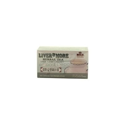 Liver & More Herbal Tea 20 Tea Bags Caffeine Free Liver Eyes and Kidney Health