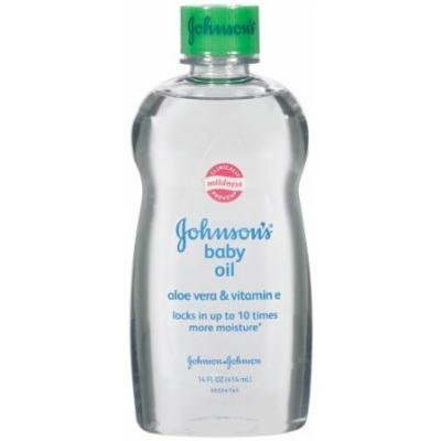 Johnson Baby Oil With Aloe Vera & Vitamin E 14OZ (Pack of 9)