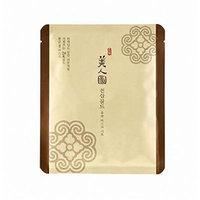 The Face Shop Myeonghan Miindo Heaven Grade Ginseng Face Contour Golden Gel Mask 27g