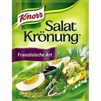Knorr French Art Salad Dressing - Pack of 4 x 5 pcs ea.