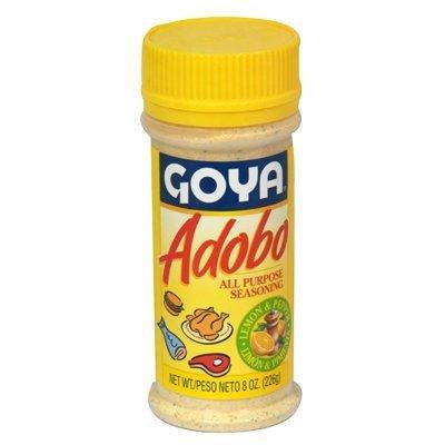 Goya Adobo Seasoning With Lemon & Pepper 8oz Adobo Con Limon & Pimiento (2 units)