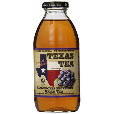 Texas Tea Green Tea, Nacogdoches Blueberry, 16 Ounce