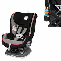 Peg Perego USA Primo Viaggio Convertible Car Seat w Cup Holder, Charcoal (Sport)