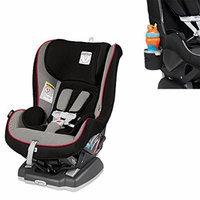 Peg Perego USA Primo Viaggio Convertible Car Seat w Cup Holder, Charcoal (Sport)