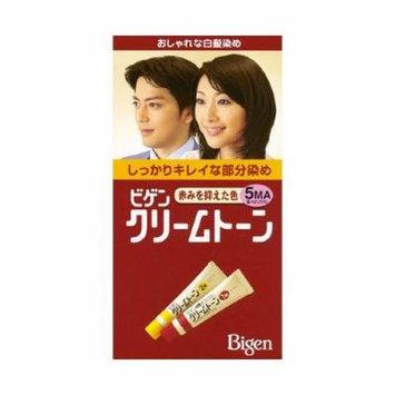 Hoyu Bigen Hair Color Cream For Gray Hair Deep Chestnut Brown