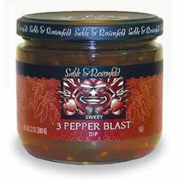 3 Pepper Blast Sweet Dip 12 oz jar (pack of 2)