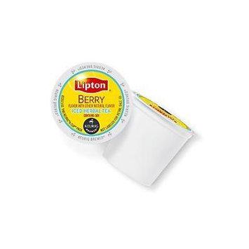 Lipton Berry Iced Herbal Tea Keurig K-Cups, 96 Count