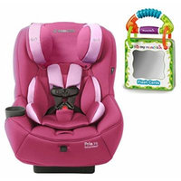 Maxi-Cosi Pria 70 Convertible Car Seat with Easy Clean Fabric and Travel Flash Cards, Sweet Cerise
