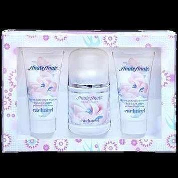 Anais Anais by Cacharel Perfume Women 3 Pcs Set 3.4 oz EDT + 2 x 1.7 Body Lotion