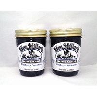 Mrs. Miller's Amish Homemade Blueberry Preserves 8 Oz. - Pack of 2 (Boxed)