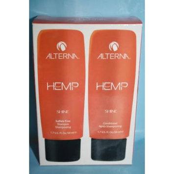 Alterna Hemp Straight Sulfate Free Shampoo & Conditioner 1.7 Fl Set