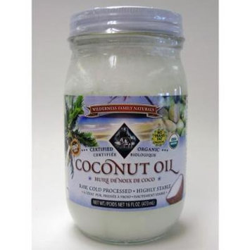 Coconut Oil, Extra Virgin Cold Pressed, Certified Organic, 1 pint