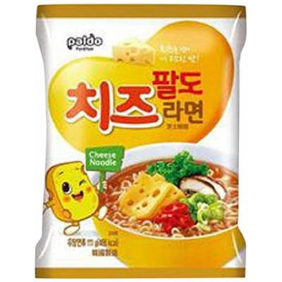 Paldo Cheese Fromage Ramyun Noodle 3.92 Oz (4 Packs)