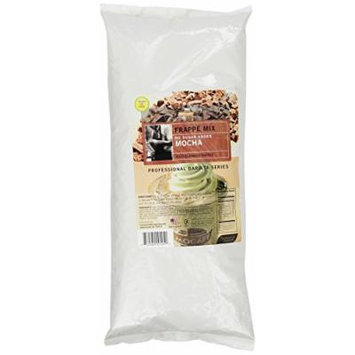 MOCAFE Frappe Mocha, No Sugar Added Ice Blended Coffee, 3-Pound Bag